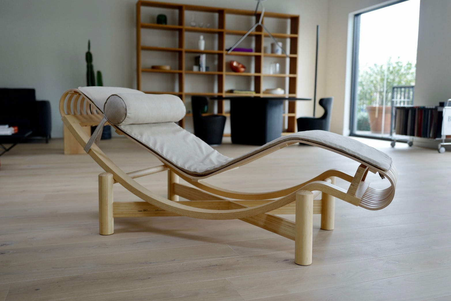 Tokyo Chaise in Bamboo by Charlotte Perriand