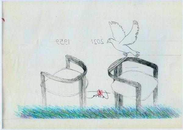 Tobia Scarpa Pigreco Sketch 01
