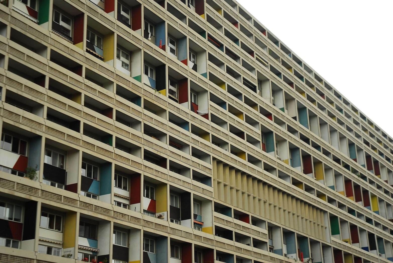Le Corbusier Unite D Habitation borne béton lamp speaks to le corbusier's… | context gallery