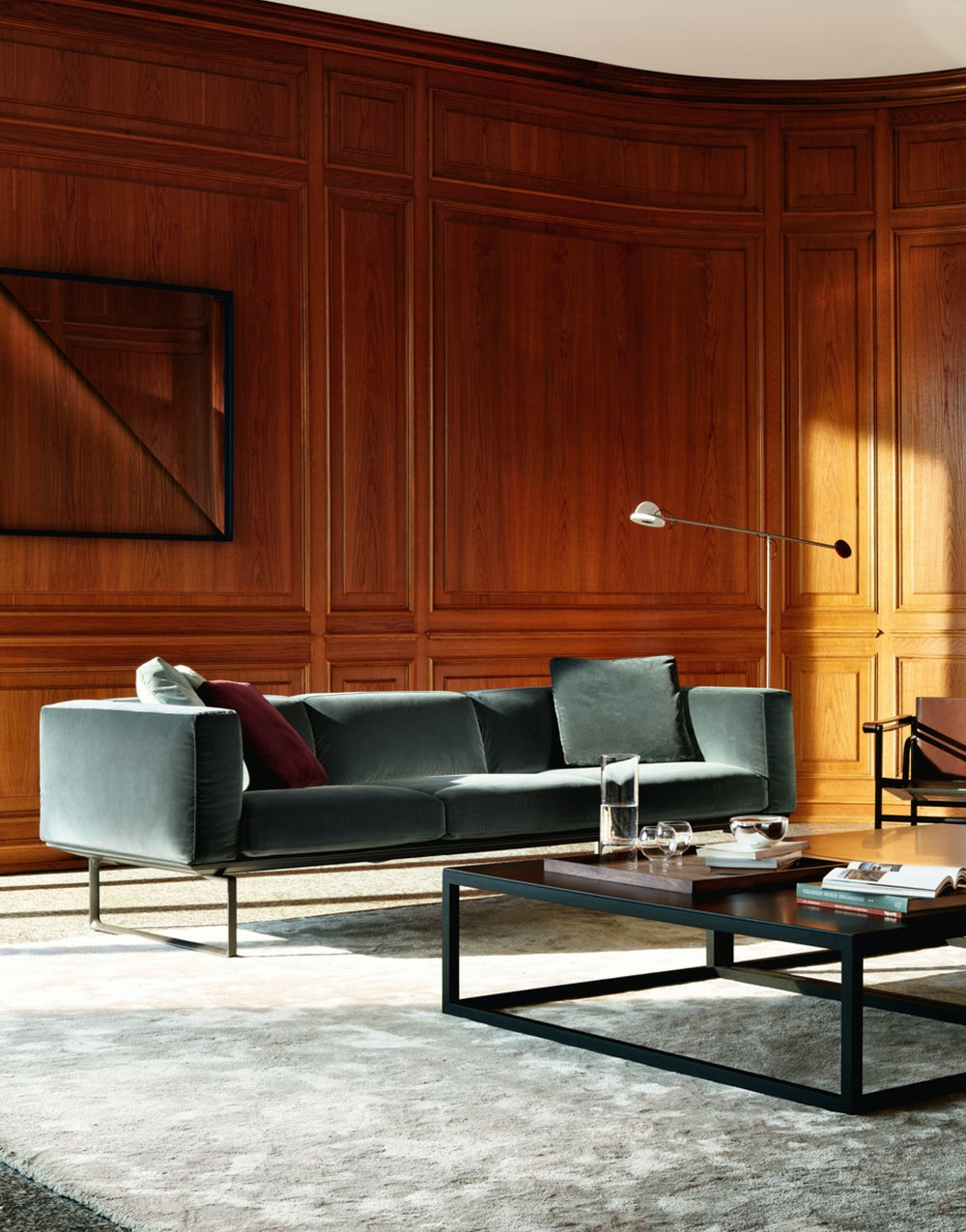 Cube sofa Piero Lissoni Cassina 3