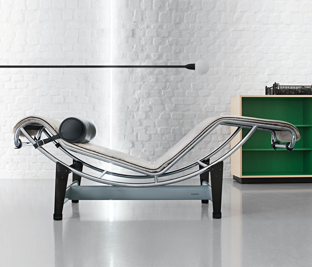 LC4 Villa Church chaise lounge corbusier Jeanerett Perriand Cassina 4