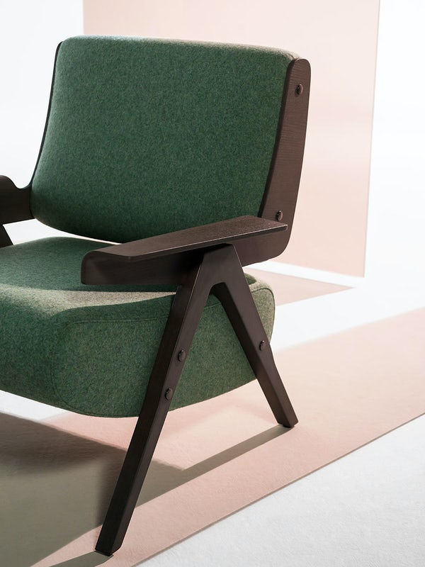 Lina lounge chair Gianfranco Frattini Tacchini 6