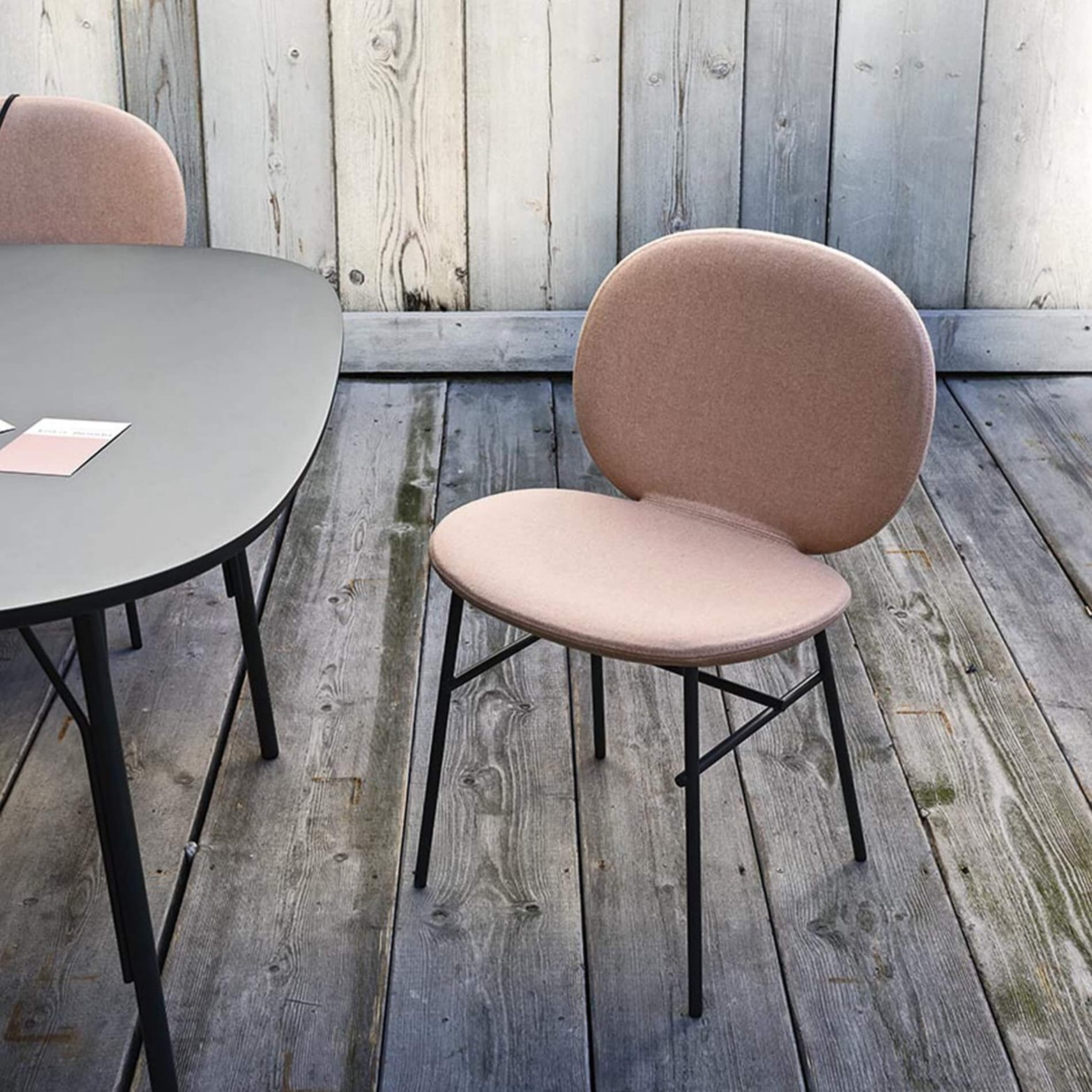 Tacchini Kelly Side Chair Context 7