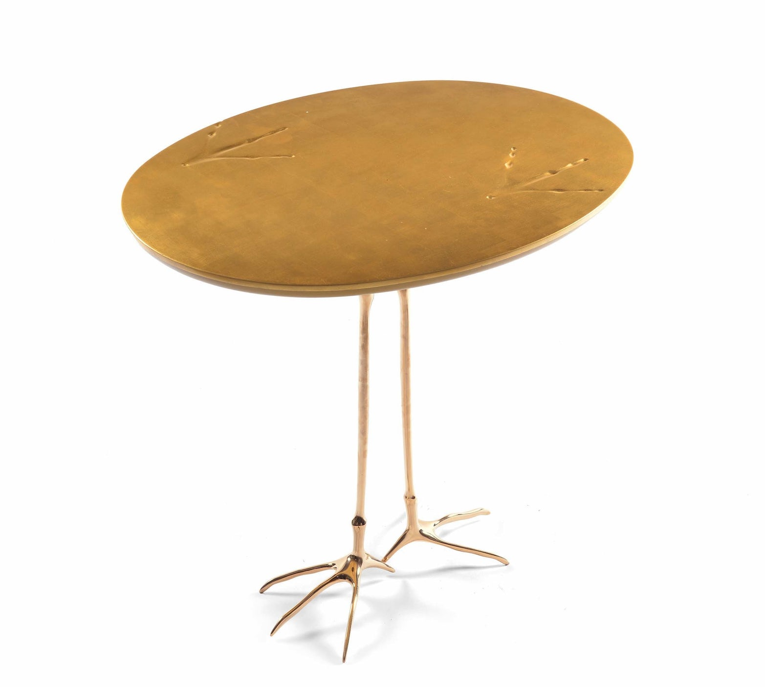 Traccia side table Meret Oppenheim Cassina 1