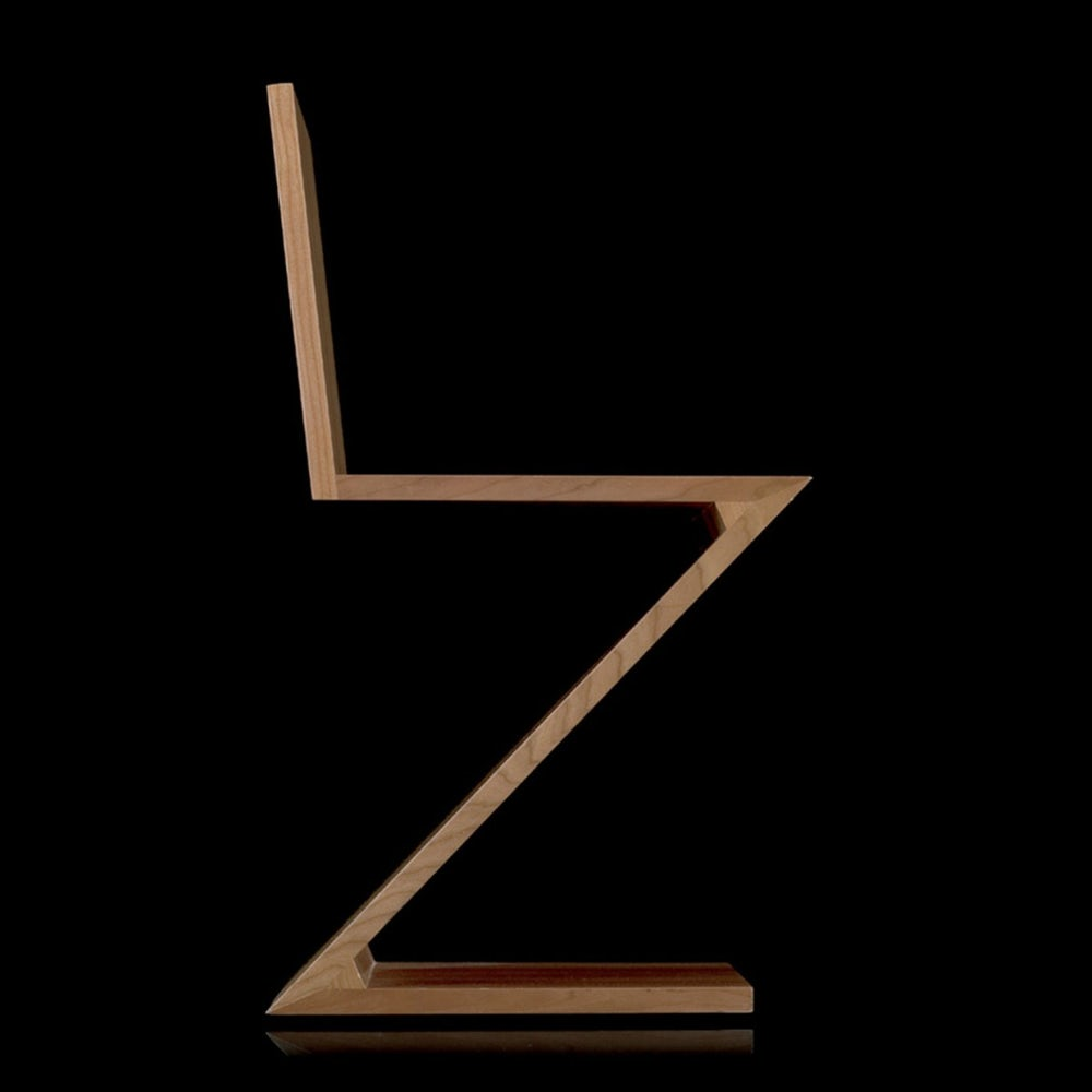 Zig zag chair Gerrit Rietveld Cassina 8